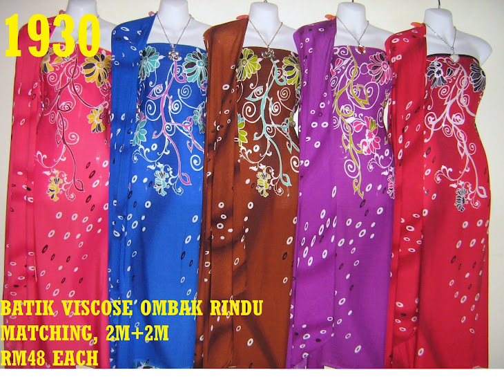 BVM 1930: BATIK VISCOSE OMBAK RINDU MATCHING, EXCLUSIVE DESIGN, 2M+2M