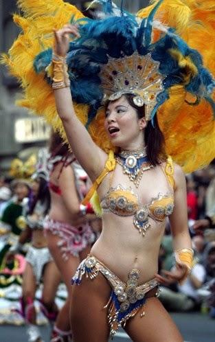 Asakusa Samba Carnival summer festival, Tokyo