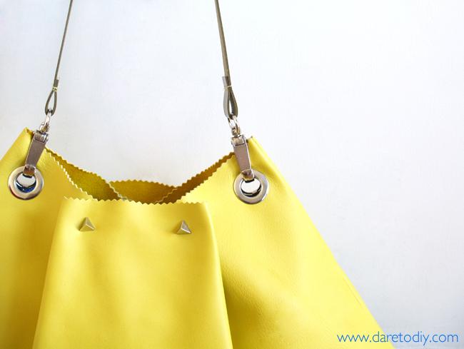 DIY: El bolso de piel más fácil del mundo (en 10 minutos y casi sin ...