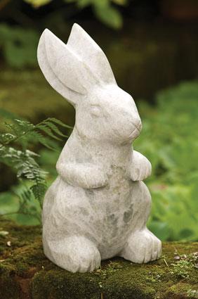 Au pays des lapins d coration d 39 ext rieur lapins de jardin for Decoration jardin lapin