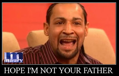 Paternity panic on the Maury show