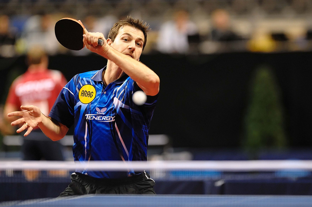 Best Celebrity Timo Boll Table Tennis Player