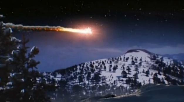 Asteroide vindo do ceu com cauda, dragao precipitado, significados 666