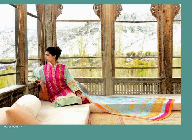 WardaSaleemLawn2014ByShariqTextile wwwfashionhuntworldblogspot 1  - Warda Saleem Lawn Collection 2014 By Shariq Textile