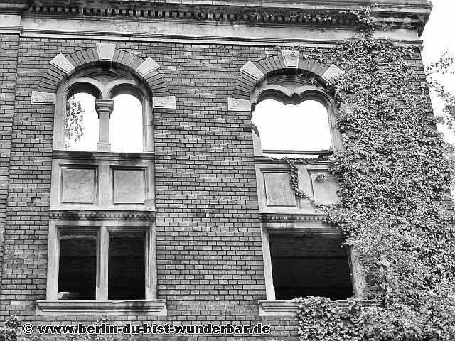 Wiesenburg, verlassene, rote ziegelstein, Sehenswürdigkeiten, alt, wedding, berlin