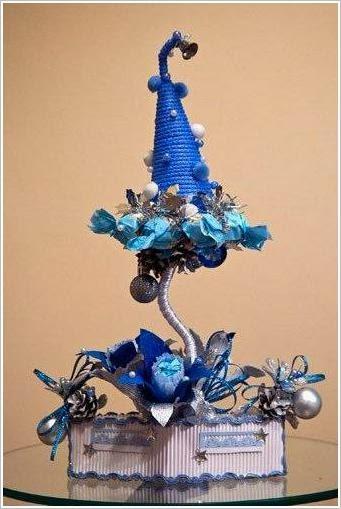 Новогодний топиарий. Christmas Topiary