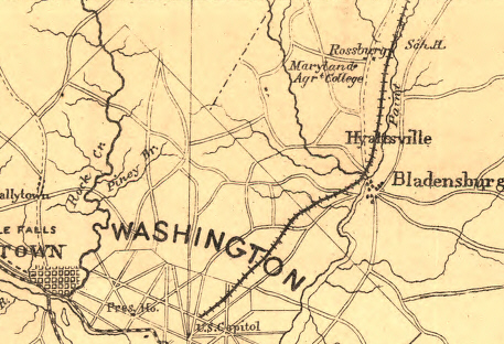 Civil War Washington DC A College Divided University of MD