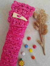 Funda de trapillo para la flauta a crochet