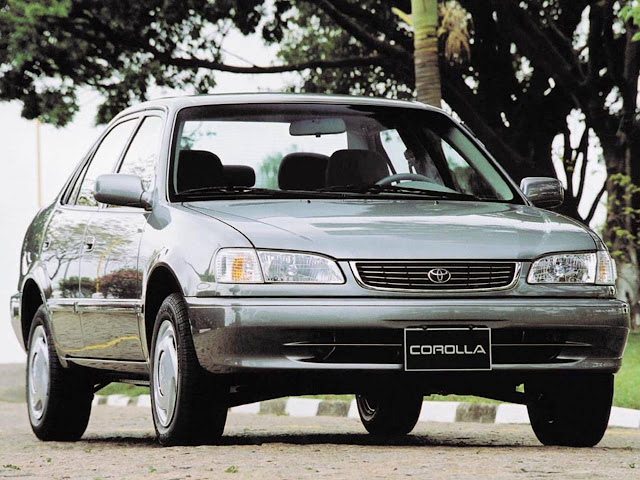 Toyota Corolla 2001 - usado