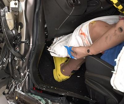 Fiat 500X Crash Test Dummy