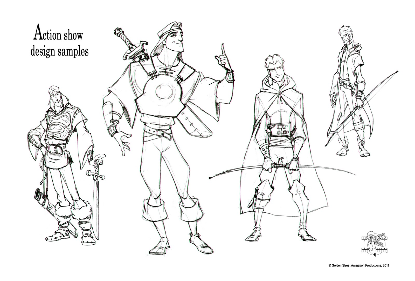 Quick Draw Services Character Designs By Quick Draw Artist