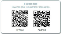 Provence Gallery mobile phone application flash code