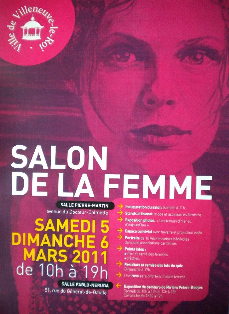 Exposition personnelle Salon de la Femme 2011