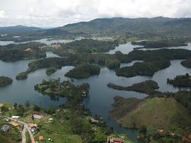 Lakes and Islands - El Peñol
