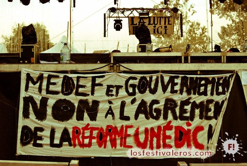 RioLoco: protestas de precarios e intermitentes