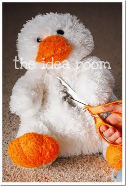 Gifts that say wow fun crafts and gift ideas easter if you are skilled at sewing this is a awesome idea for using a stuffed animal for easter basket great way to re purpose all those lonely stuffed animals negle Gallery