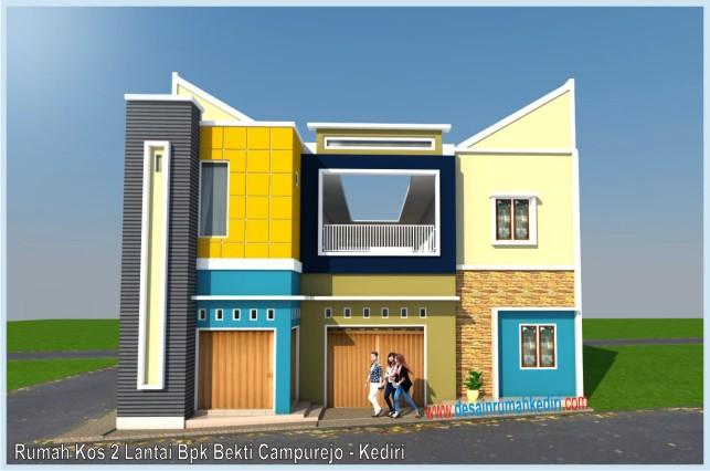 Rumah Kos 2 Lantai Minimalis Modern Bpk Bekti C&urejo - Kediri & Rumah Kos 2 Lantai Minimalis Modern Bpk Bekti Campurejo - Kediri ...