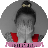 FOR THE LOVE OF THRIFT • UK Blog