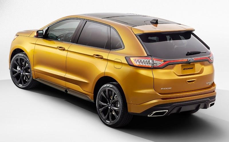 BmotorWeb: Novo Ford Edge 2015