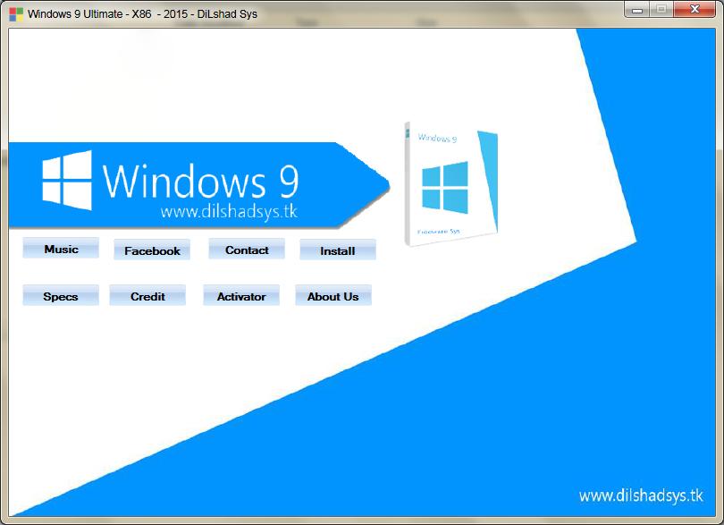 Windows 9 Ultimate 2015