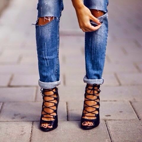 Fashion Is My Drug This Seasonu0026#39;s Sexiest Shoes - The Lace-Up Heels
