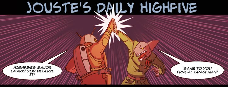 jouste&#39;s daily highfive