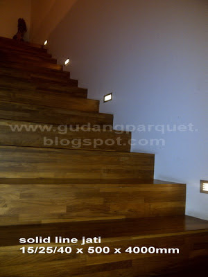 jual papan tangga jati murah berkualitas