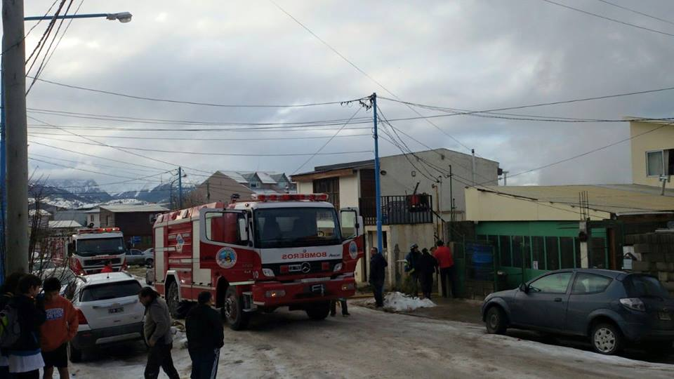 Incendios en dos viviendas en Ushuaia
