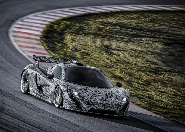 Video of McLaren P1 Undergoing Track Testing