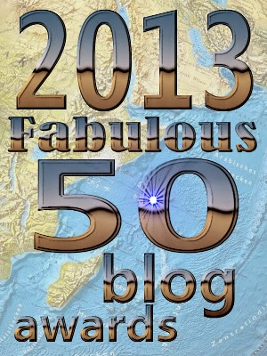 Winner - 2013 Fabulous 50 Blog Awards