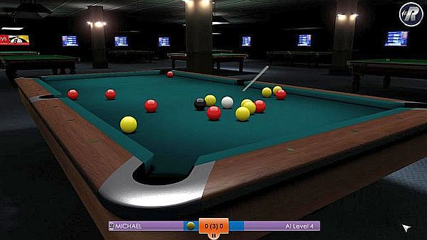 snooker games for free