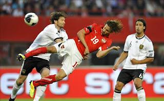 alemania le gano a austria