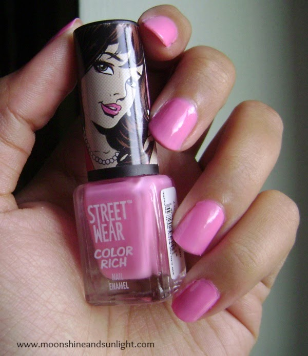 Indian beauty blog Revlon street wear color rich nail enamel (41) Be mine swatches and review