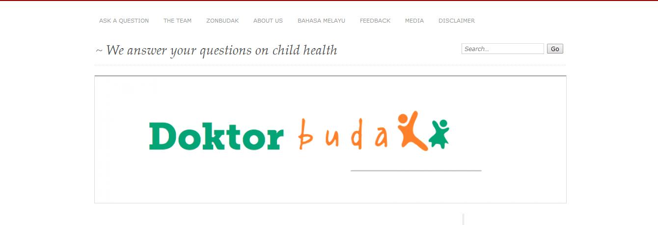 doktor+budak - 10 Website/Blog Kesihatan Yang Sahih dan Sesuai Dijadikan Rujukan