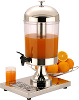 Dispenser suc, bauturi reci- produs horeca- utilizat in hoteluri bufet suedez
