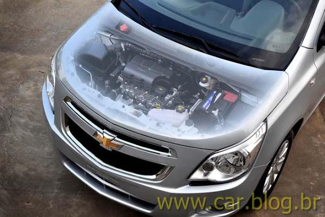 Novo Chevrolet Cobalt 2012 - motor consumo