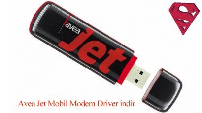 Avea Jet Mobil Modem driver sorun çözümü.