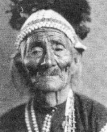 Anh Cả của bộ lạc Navajo, với khuôn mặt sâu sắc lót. (Từ Chân dung người Mỹ bản địa)