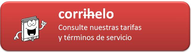 Consulte nuestras tarifas y términos de servicio