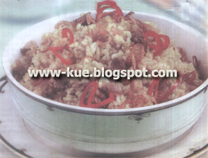 masak memasak nasi bumbu daging kambing