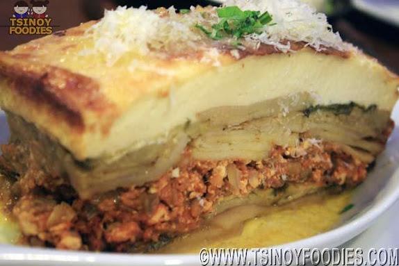 meatless moussaka