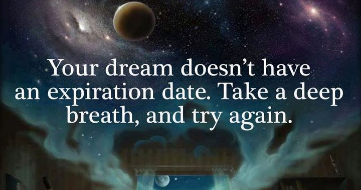 Random Thoughts Do Your Dreams Have An Expiration Date