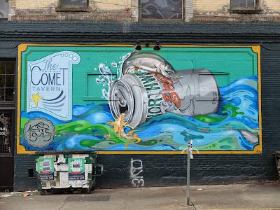Comet Tavern Mural