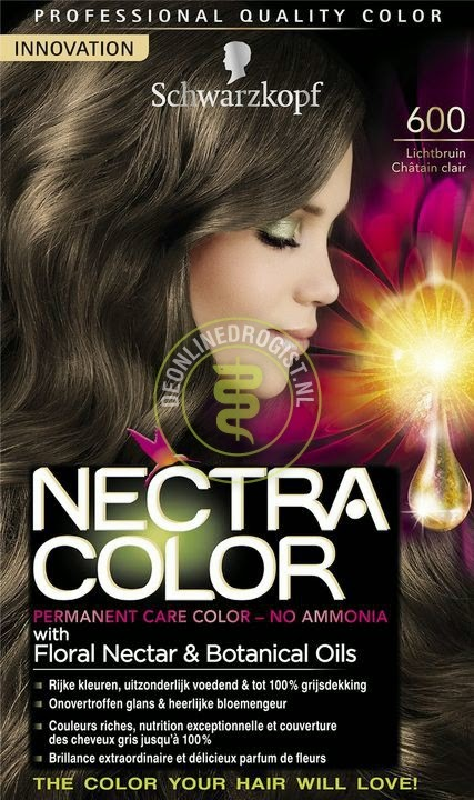 while letting the schwarzkopf 600 mid brown work into my hair for an extra long time just to be sure i did some research and found a lovely video from - Schwarzkopf Nectra Color