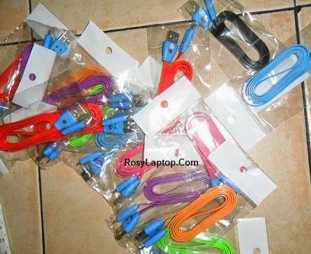 Kabel USB – Micro usb Warna Warni Nyala