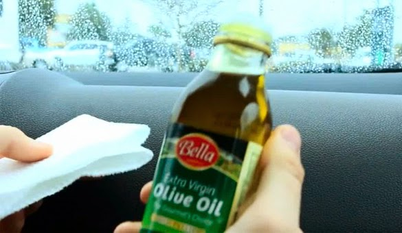 Tips Mengkilapkan Dashboard Mobil Menggunakan Minyak Zaitun
