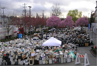 Since 2009, E-Cycle has collected almost 100 million pounds of covered electronics.
