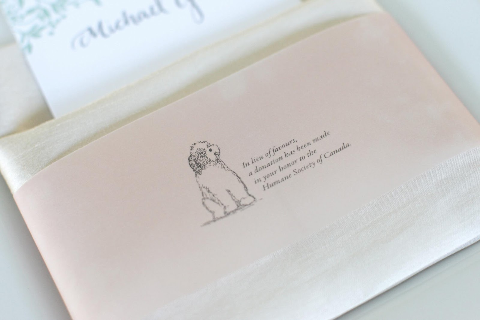 Favor Alternative | Bradley & Lily Fine Stationery
