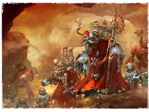 Cult Mechanicus- Battle Congregation and Warlord Traits