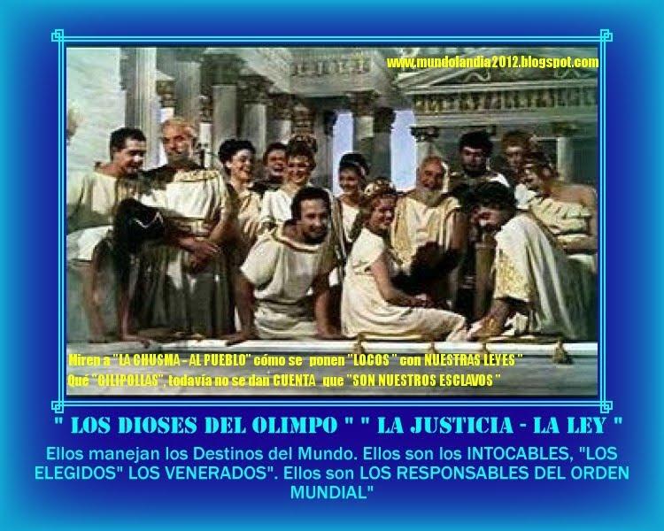 """ELLOS DIRIGEN LOS """" DESTINOS DE LOS CIUDADANOS DEL MUNDO"""""""